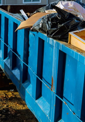 Save Time With a Dumpster Rental